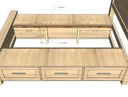 King Size Bed Frame With Storage Drawers King Size Storage Bed Storage Bed With Storage Drawers Furniture
