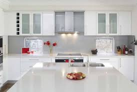 White Cabinet Kitchen Design Great Modern Kitchen With White Cabinets And Modern Kitchen White