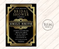 Sho Gatsby gatsby bridal shower invite gatsby invitation deco