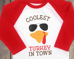 thanksgiving tshirt coolest turkey in town boys thanksgiving shirt thanksgiving