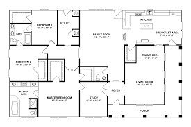 7 clayton homes ranch double wide home floor plans modular
