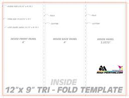 letter size brochure template printing company inc 12 x 9 roll fold brochure template