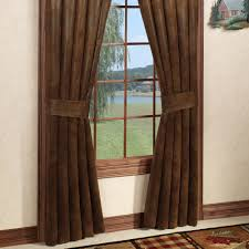 100 Curtains Montana Morning Rustic Window Treatment