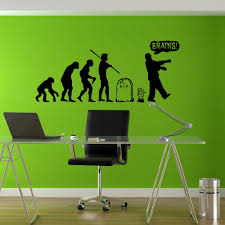 compare prices on evolution wall sticker online shopping buy low stickers wall art wall decals home decor wall stickers decor nursery ideas sticker art evolution zombie
