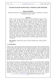 tourism in river island majuli prospects and problems pdf