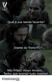 Vikings Memes - vikings brasil qual a sua banda favorita diante do trono nao