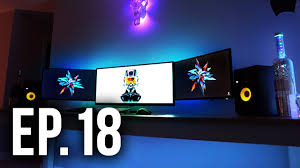 room tour project 18 ft marzbar best gaming setups