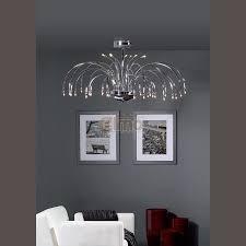 lustre chambre ado gar輟n cuisine lustre contemporain cascade metal chrome cascadejpg