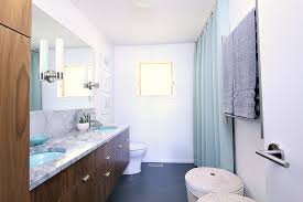 Midcentury Modern Bathroom A Mid Century Modern Inspired Bathroom Renovation Before After