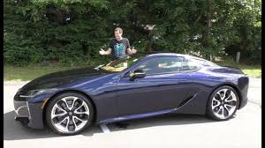 new lexus sports car price tag here u0027s why the 2018 lexus lc500 costs 100 000 youtube