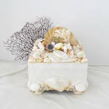 white coral home decor shell box capiz nautilus lacy coral box abalone pieces shells