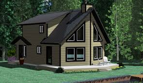 the skeena prefab cabin and cottage plans winton homes