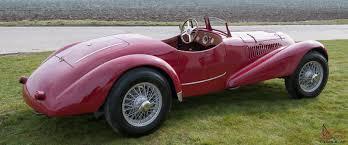 maserati fiat barchetta 1500 cc 6 cylinder mille miglia 1948 maserati red like