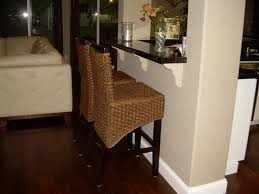 captivating wicker bar stools highest quality decoreven