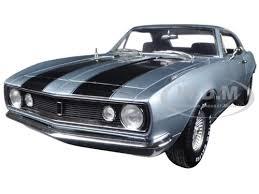 1967 camaro diecast chevrolet camaro silver blue christine limited edition to
