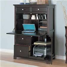 Oxford Tall Secretary Desk What An Easy Way To Keep Things Organized And It Doesn U0027t Take A