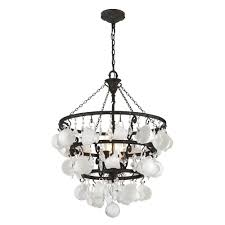 Home Depot Bronze Chandelier Troy Lighting Barista 6 Light Vintage Bronze Chandelier F3827