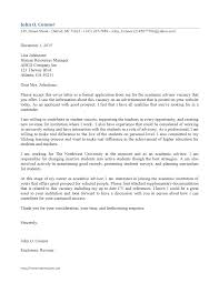 student cover letter exle academic cover letters templates franklinfire co