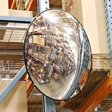 Blind Corner Mirror Mirror Convex Mirrors In Stock Uline