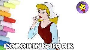 cinderella coloring book page disney princess cinderella colouring