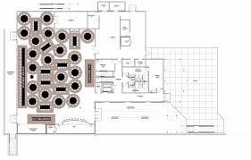 floor plan with tables 300 max with two buffet lines with 36