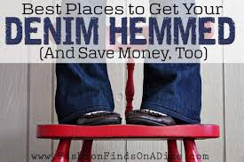 best places to get your denim hemmed and save fashion