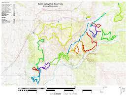 Utah On A Map by Gjhikes Com Westwater Mesa Loop