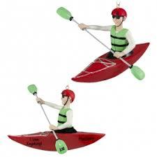 kayaking ornaments gifts