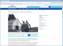 digging researching gaelic heritage at scotia archives