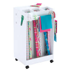 gift wrapping cart mobile wrapping cart the recollections mobile wrapping cart is a
