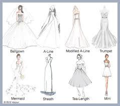 wedding dress type wedding dresses 101 types of wedding dress silhouette dress