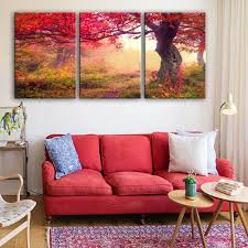 online get cheap painting tree leaves red aliexpress com