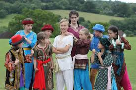 talented students from bath theatre perform joseph and the