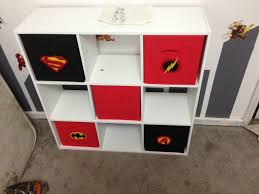 superhero boys room bookshelf random pinterest superhero