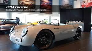 spyder porsche price on the lot porsche 550 spyder for sale at porsche auto gallery