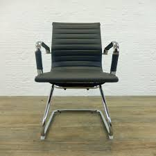 Eames Leather Chair Eames Style Task Chair Modernist Eames Style Leather Desk Chair