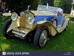 rolls royce vintage convertible juechen germany 2nd aug 2014 a rolls royce u0027phantom ii barker