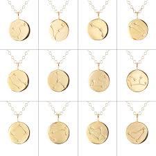 charm chains necklace images Zodiac charm necklaces kris nations jpg