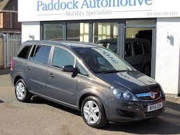 opel zafira 2014 second hand vauxhall zafira 1 8i exclusiv disabled wheelchair