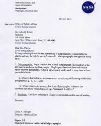 Business Letter Mailing Address Format Npr 1450 10d Chapter3