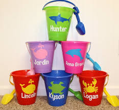 personalized buckets 115 best personalized pails easter sand images on