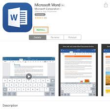 installation and setup procedures for microsoft office on iphone