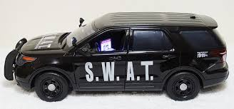 toy police cars with working lights and sirens for sale custom 1 18 swat ford pi utility police suv with working lights siren
