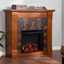 Electric Fireplace Heater Tv Stand by 23 U2033 Free Standing Insert 3d Flame Wood Electric Fireplace Firebox