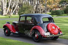 vintage citroen cars sold citroen light 15 sedan auctions lot 12 shannons