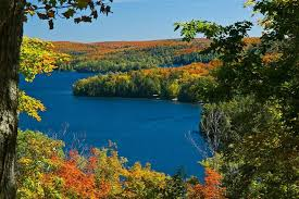 algonquin provincial park canada autumn