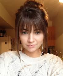 hairstyles for long hair long bangs 18 best hairstyles with bangs images on pinterest fringes hair