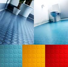 rubber flooring it is pvc free does not require waxing or