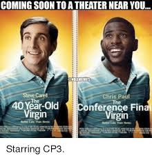 Chris Paul Memes - coming soon to atheater near you onbamemes steve carell chris paul