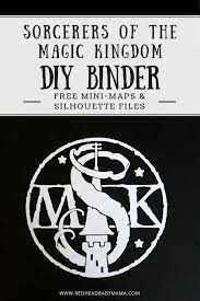 diy sorcerers magic kingdom book video free silhouette